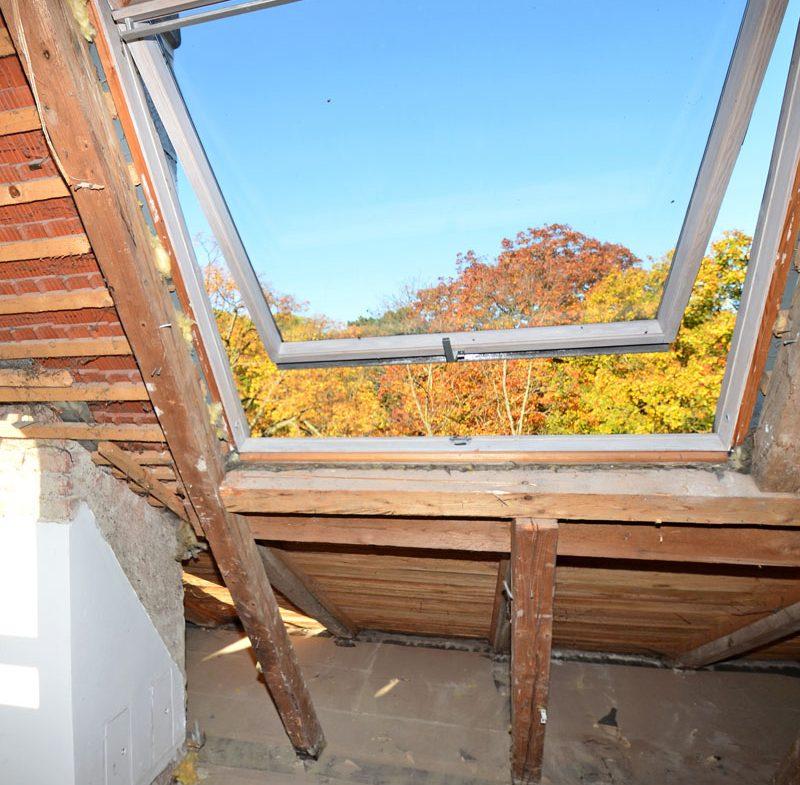 Dachausbau, Dachwohnung